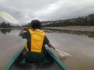 Canoeing on the Umgeni River
